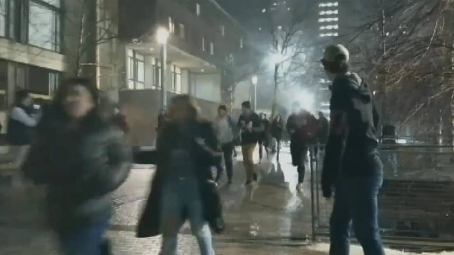 Students cause disruption at UMass Amherst after Super Bowl