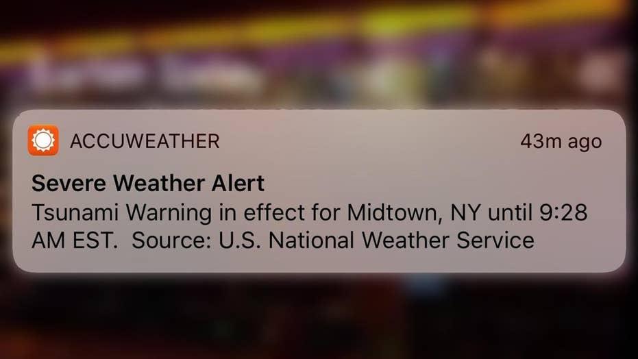 Tsunami warning that panicked people nationwide was 'TEST
