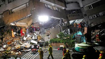 Hundreds are injured and many unaccounted for after a powerful magnitude 6.4 quake rocks the eastern coast of Taiwan.