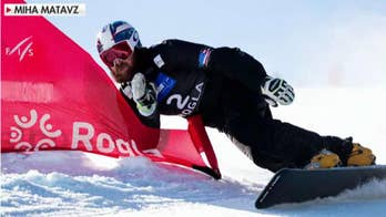 Snowboarder vows to win after taking quite the journey to compete in South Korea.