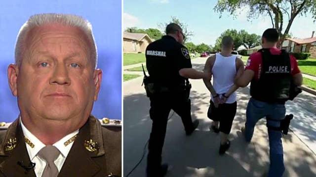 Sheriff: Trump will declare war against MS-13