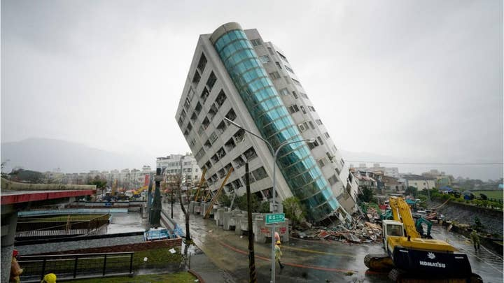 Taiwan earthquake: Devastating images from the aftermath