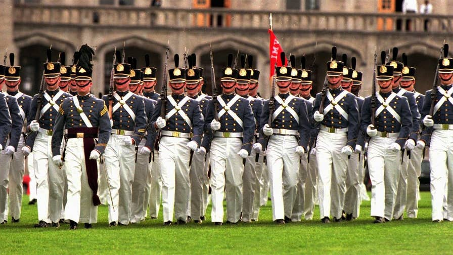 Which countries typically hold military parades and are they unusual for the U.S. to hold?
