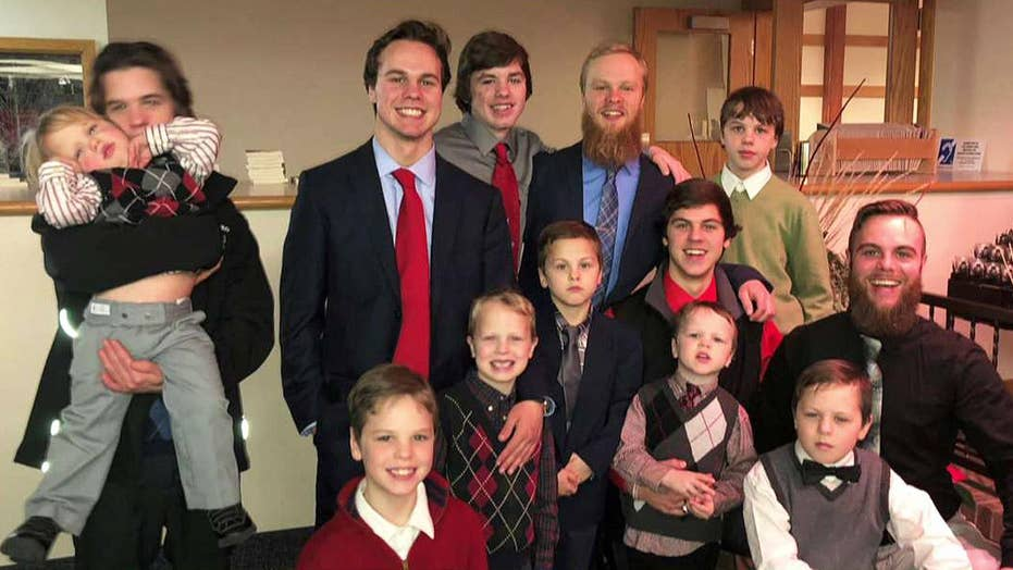 Parents of 13 boys expecting baby number 14