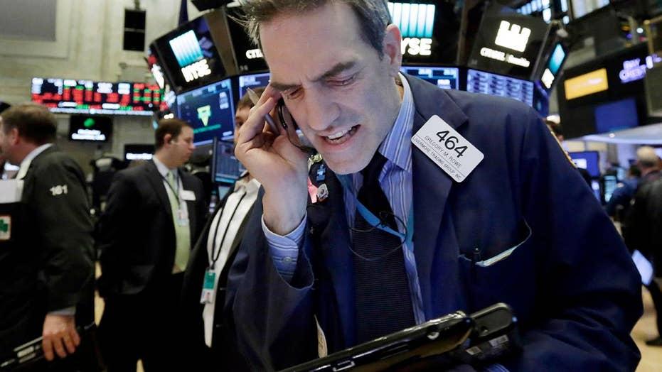 Mainstream media targets Trump during Wall Street swings