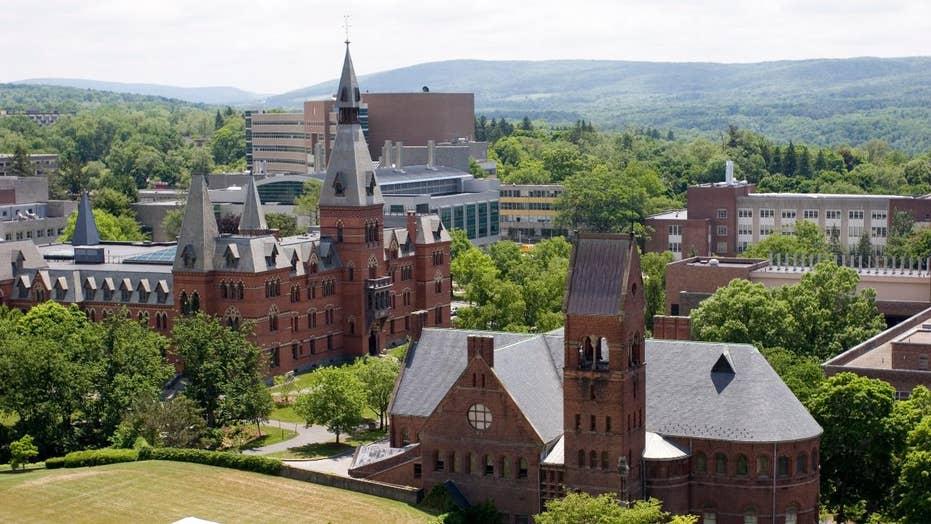 Cornell University frat disciplined for sex contest dubbed 'Pig Roast'