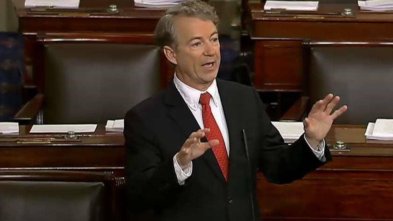 Senate has recesses until Friday at 12:01 a.m., assuring shutdown