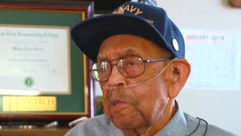 World War II veteran recognized with honorary college degree