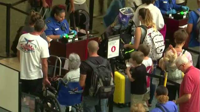 Should private companies provide airport security?