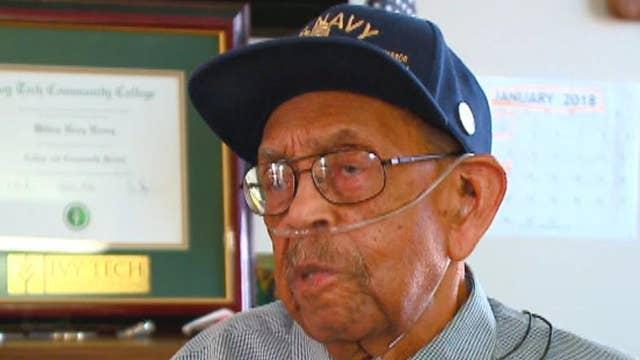 WWII veteran awarded honorary degree