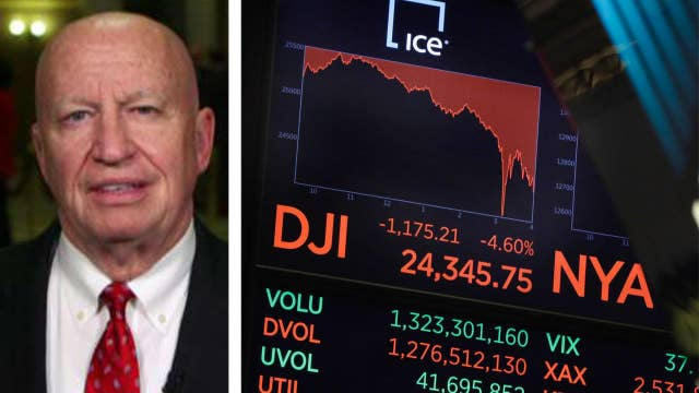 Rep. Kevin Brady optimistic about tax policies as Dow drops