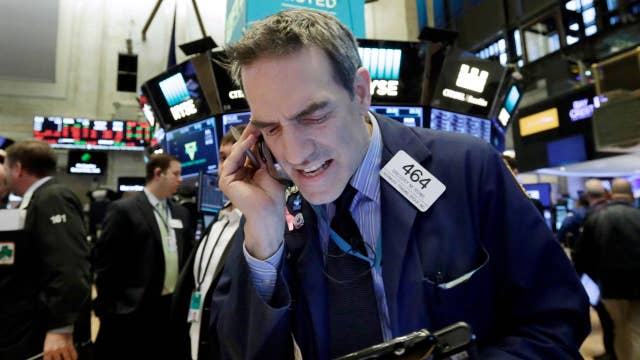 Another big sell-off for stocks