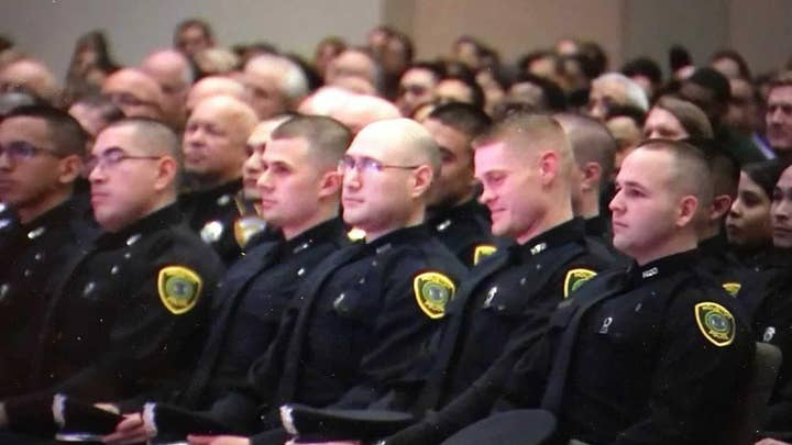 Police departments nationwide facing officer shortages