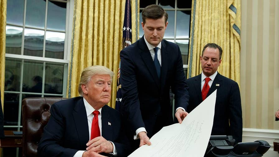 New photos and statements following the bombshell resignation of White House Staff Secretary Rob Porter
