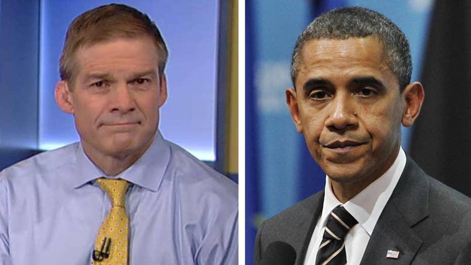 Rep. Jordan: FBI texts about Obama raise lots of concerns