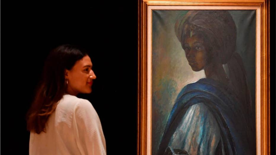 Iconic 'African Mona Lisa' discovered, hits auction block