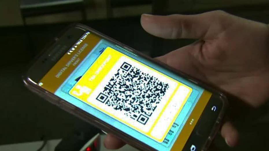 Digital driver's licenses get a test spin