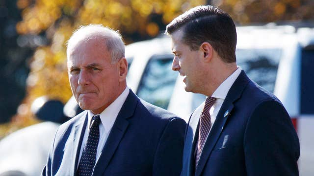 John Kelly sends email to WH staffers about Rob Porter