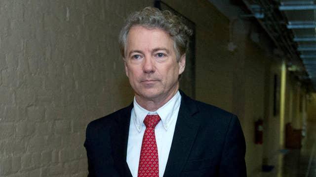 Senators make appeal to Paul on floor as shutdown looms