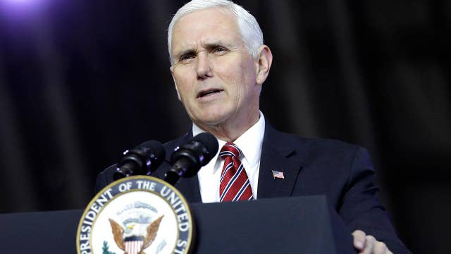 Pence arrives in South Korea with warning for Kim Jong Un