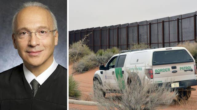 Hearing begins on President Trump's border wall