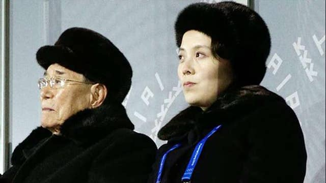 Kim Jong Un's sister steals show at Olympic ceremony