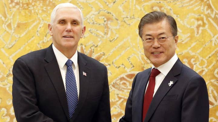 Pence brings US political presence to Winter Olympics