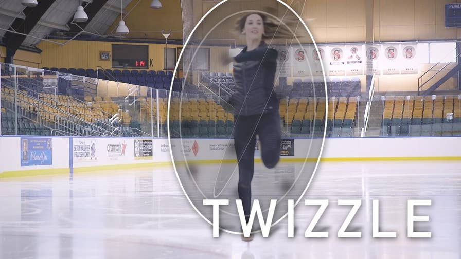 Two-time Olympian, British ice dancer Sinead Kerr explains spins, jumps, and twizzles and other figure skating moves we're watching at the 2018 PyeongChang Winter Olympics