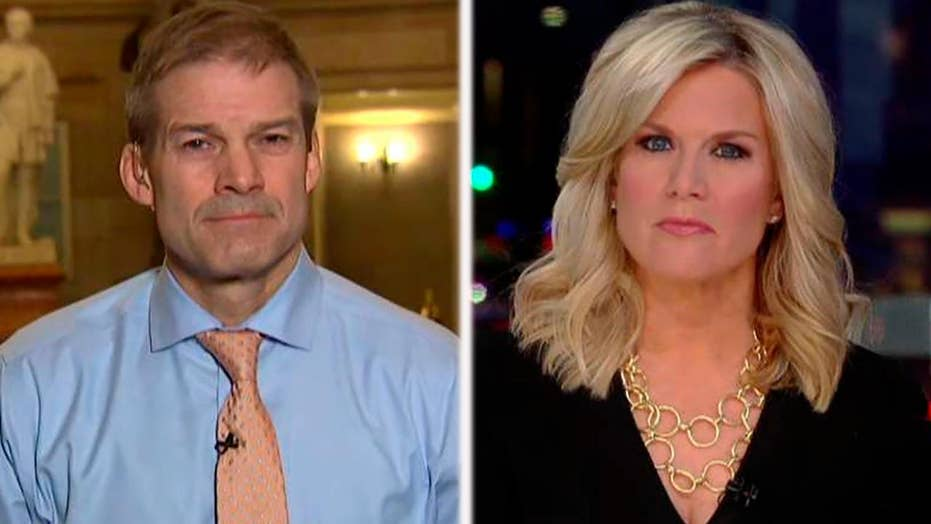 Rep. Jordan slams Democrat's attempt to meet with Steele