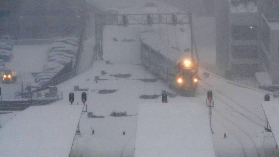 Massive winter storm affecting travel