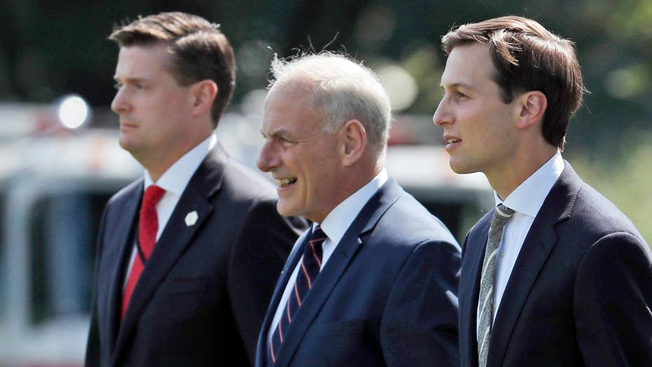 New questions about who knew what, when about Rob Porter