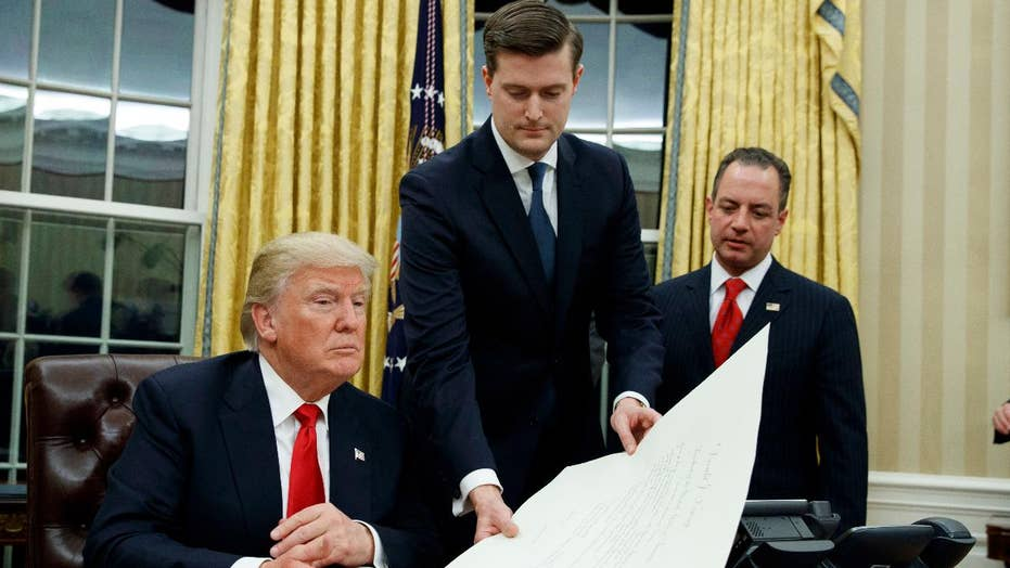 Trump surprised by the Porter allegations, wishes him well