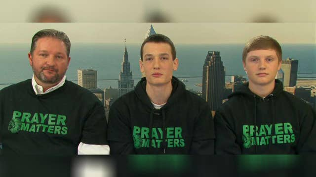 Ohio school district bans prayer before sporting events