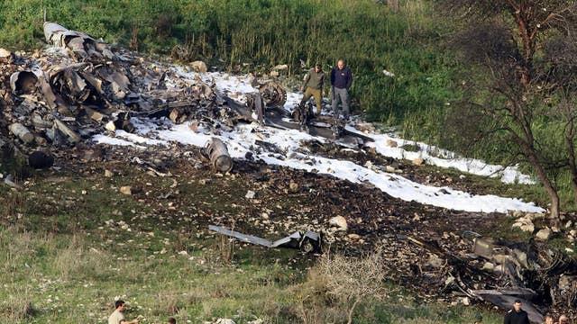 Israeli Air Force hits targets in Syria