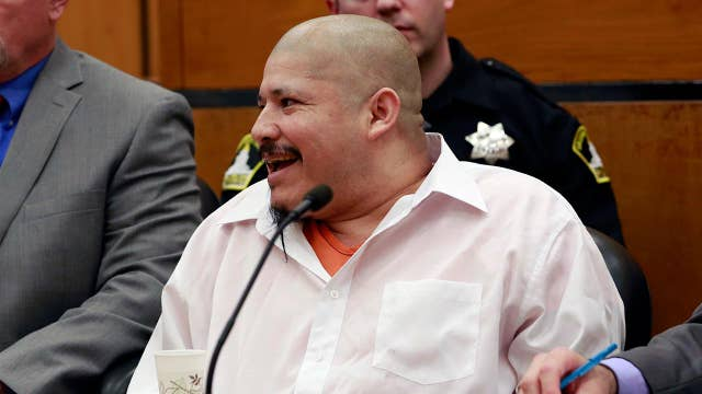 Illegal immigrant cheers after found guilty of killing cops