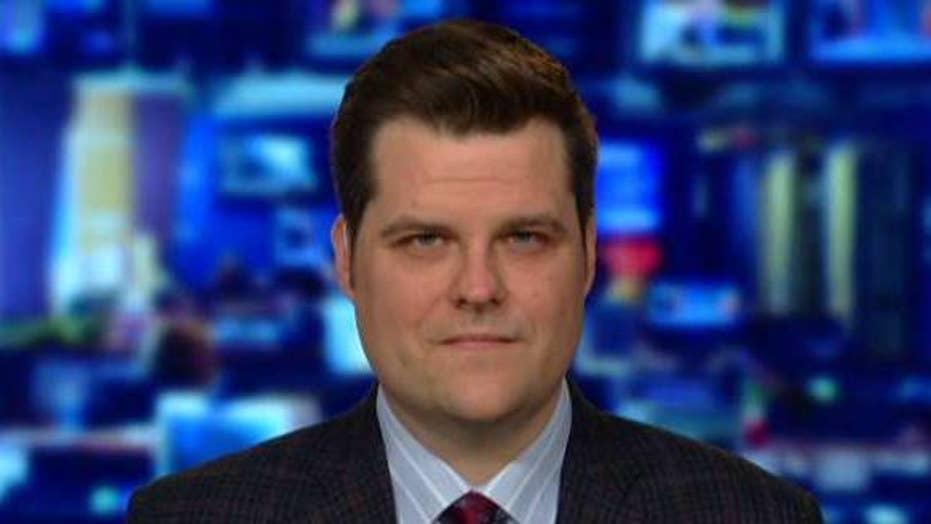 Rep. Matt Gaetz talks GOP and Democratic memo differences