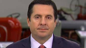 House Intelligence Committee chairman says on 'Sunday Morning Futures' that the Democrats included sensitive material in their FISA memo, causing the White House to block its release.