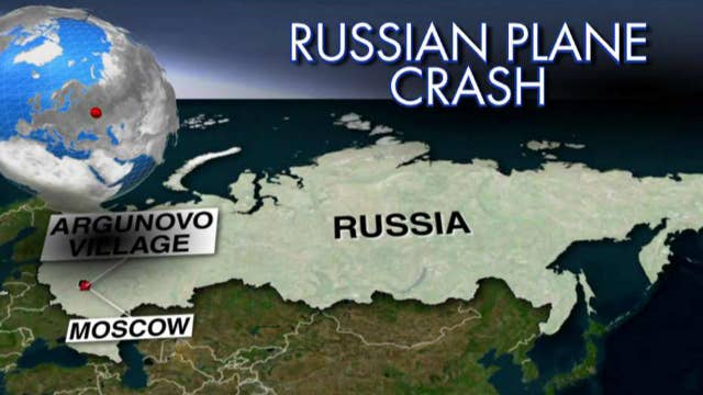 Russian plane crashes shortly after takeoff in Moscow