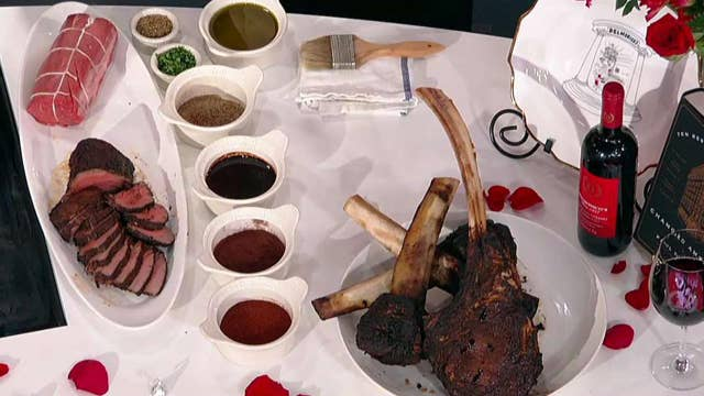 Delmonico's chocolate-chili rubbed Valentine's Day recipes