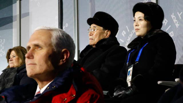 Smart for Pence to avoid Kim Jong Un's sister at Olympics?