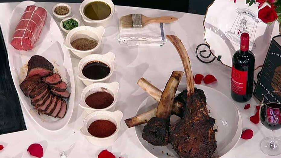 Delmonico's chocolate-chili rubbed Valentine's Day recipes