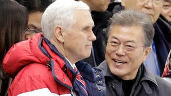 The vice president was assured by the South Korean president that pressure would be maintained on the rogue regime.