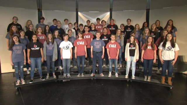 Kentucky All-State choir sings the National Anthem