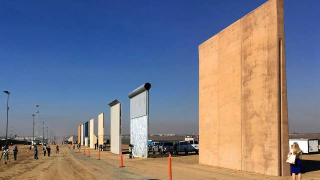 President Trump's border wall faces legal challenge