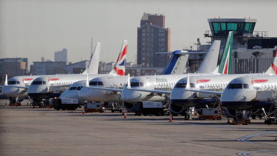 A World War II-era bomb was found in London City Airport forcing all flights in and out to be cancelled.