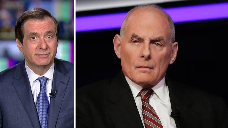'MediaBuzz' host Howard Kurtz weighs in on why the press has turned on John Kelly with a vengeance.