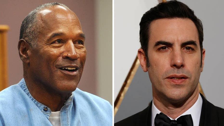 Report: Sacha Baron Cohen hires OJ Simpson for new movie