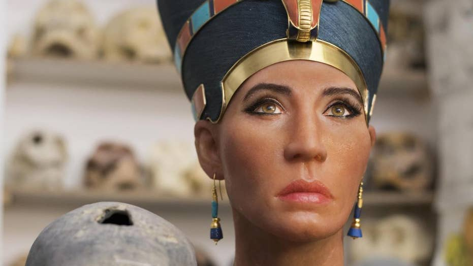 Ancient Egypt's Queen Nefertiti bust sparks outrage