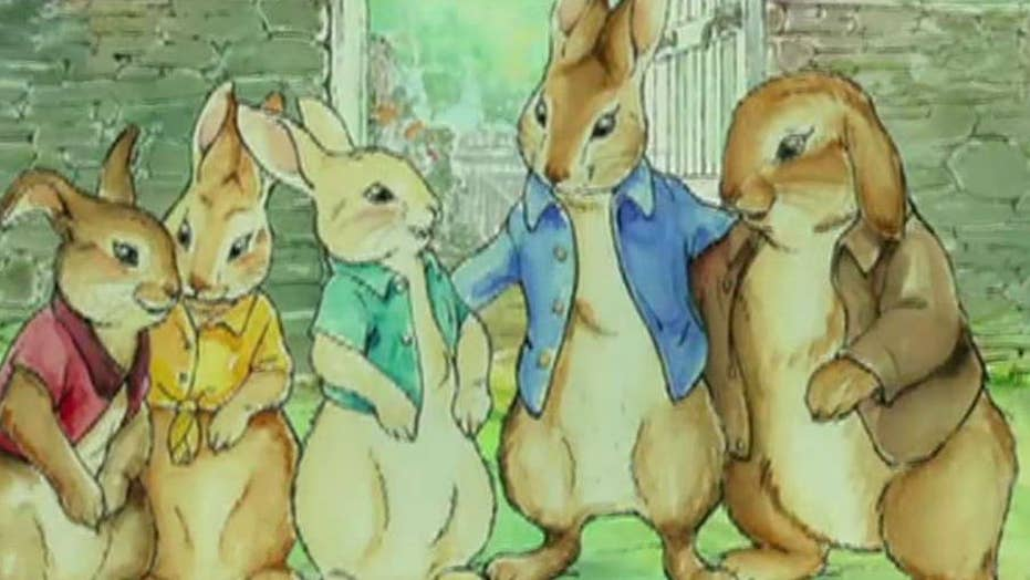 Political correctness gone wild? Anger over 'Peter Rabbit'