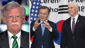 Fox News contributor Amb. John Bolton talks about tensions with North Korea and Middle East peace efforts.
